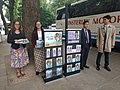Jehovah's Witnesses outside the British Museum 02.jpg