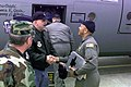 Jesse Ventura gives his support to Air Force TSGT Byron Todd as he prepares to deploy to Ramstein Air Base.jpg