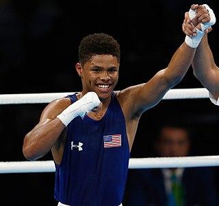 Shakur Stevenson American boxer