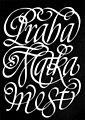 Jiří Blažek, typografie, Cancellaresca, cca 1970.jpg