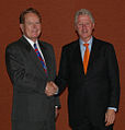 "Jimmy Flynt with the 42nd President of the United States William Jefferson ""Bill"" Clinton.jpg"