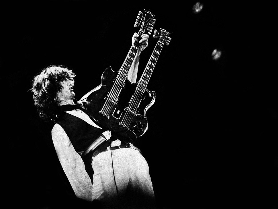 Jimmy Page - A.R.M.S. Concert, Oakland, Ca. 1983