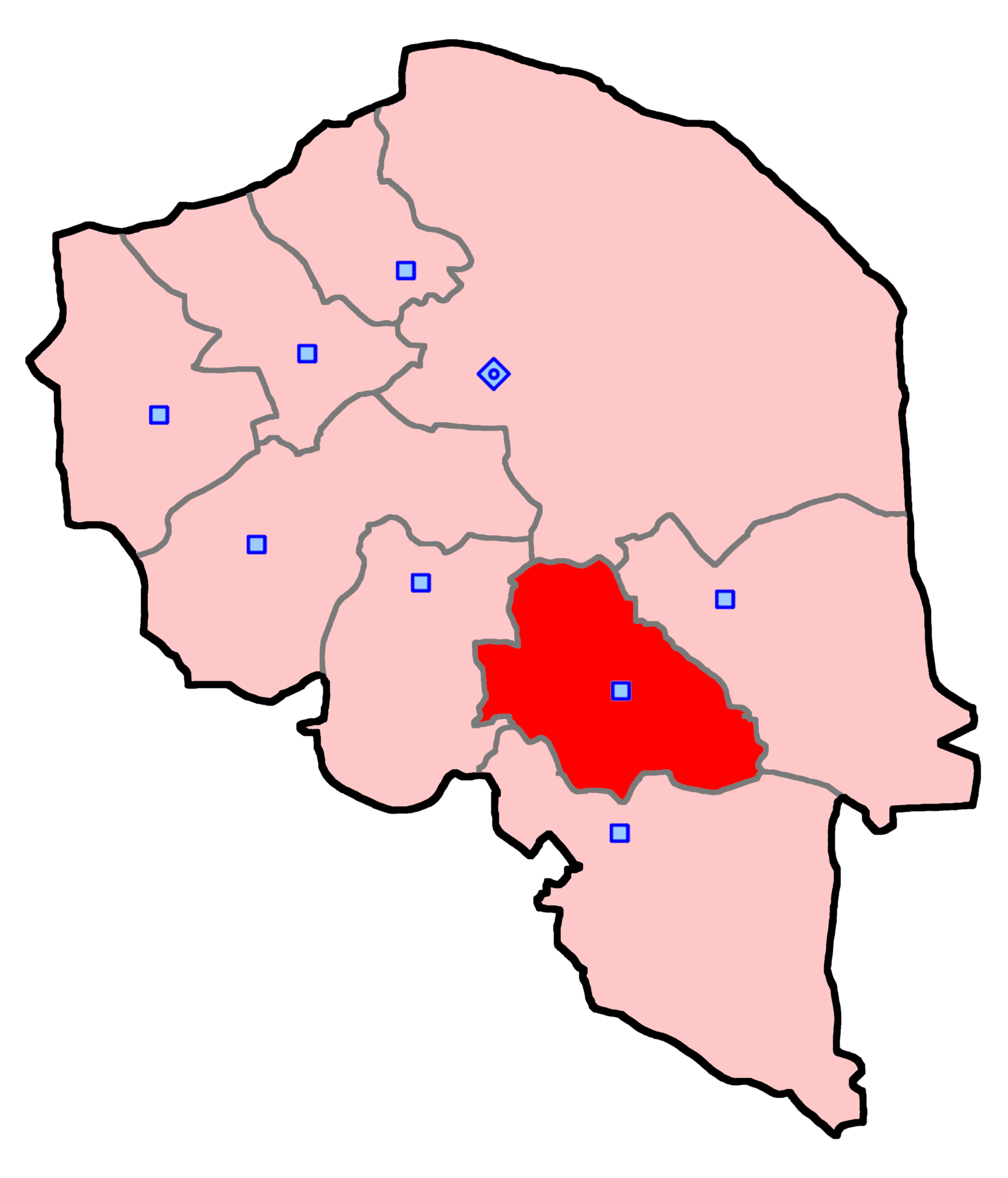 حوزه انتخابیه جیرفت و عنبرآباد