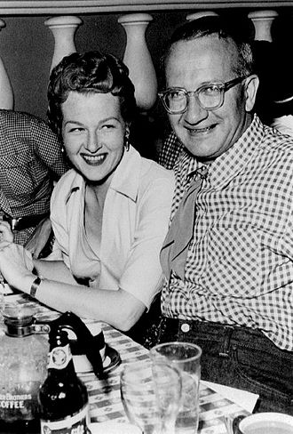 Paul Weston - Stafford and Weston dining in 1954