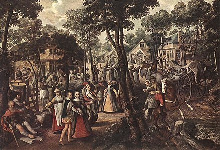Joachim Beuckelaer - Village Feast - WGA02123.jpg