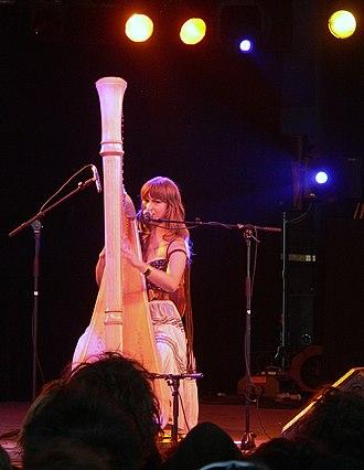 Have One on Me - Joanna Newsom, Roskilde festival, Denmark. July 3, 2005.
