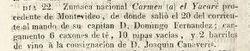 Joaquín Canaveris (Gazeta anuncio)