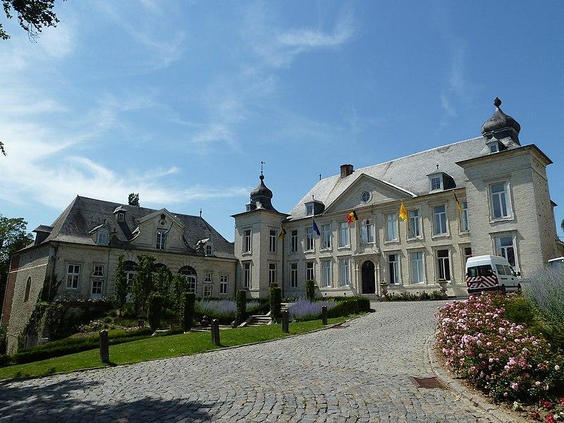 Le château Pastur (hôtel de ville), Jodoigne, Belgique