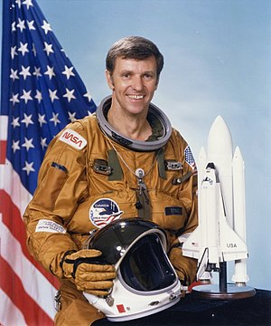Chapman, Kansas - Joe Engle grew up in Chapman and is the only astronaut to manually fly the Space Shuttle through reentry and landing.