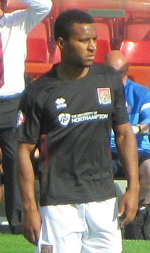 Joe Widdowson - Widdowson playing for Northampton Town in 2013