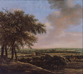 Landscape with Four Trees