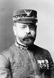 Portrait of John Philip Sousa taken in 1900
