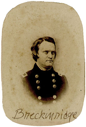 John C. Breckinridge - Breckinridge as a member of the United States Army