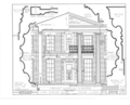 John Dowling House, 120 North Bench Street, Galena, Jo Daviess County, IL HABS ILL,43-GALA,4- (sheet 4 of 7).png