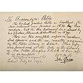 John Glasse inscription on Bassendyne Bible endpaper.jpg