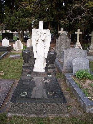 John Harley (footballer) - Grave of John Harley at the Montevideo British Cemetery
