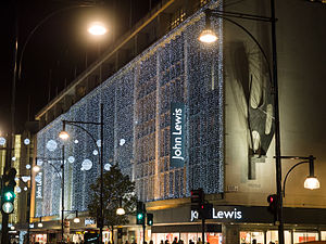John Lewis Partnership - John Lewis' flagship department store in Oxford Street