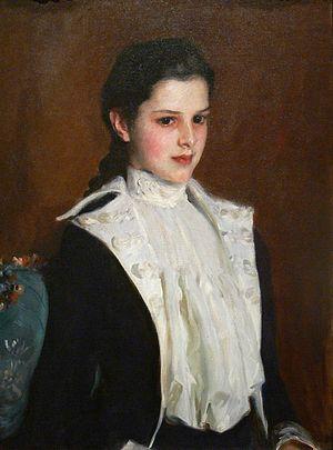 Alice Vanderbilt Morris - Alice Vanderbilt Shepard, 1888 portrait by John Singer Sargent