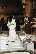 John William Waterhouse - Mariamne Leaving the Judgement Seat of Herod, 1887.jpg