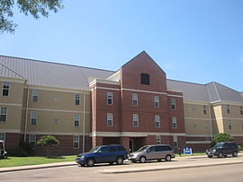 John and Florence Thomas Hall at LeTourneau in Longview IMG 4020.JPG