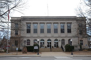 Courthouse in Clarksville