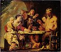 Jordaens, Jacob (I) - Satyr and Peasants - Google Art Project.jpg