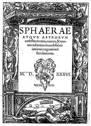 Jordanus de Nemore - Sphaerae atque astrorum coelestium ratio, natura, et motus, 1536