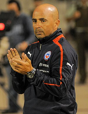 Jorge Sampaoli - Sampaoli as manager of Chile in 2013