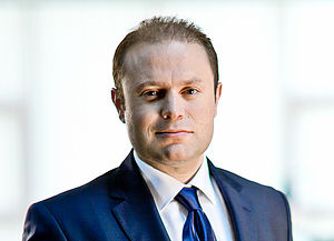 Commonwealth Chair-in-Office - Image: Joseph Muscat, Leader, Partit Laburista, Malta