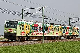 Jōshin Dentetsu Jōshin Line - A Joshin Electric Railway 1000 series EMU