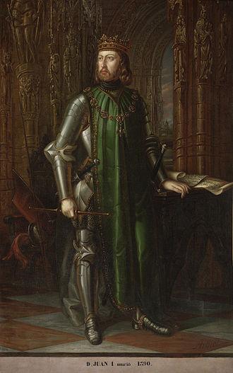 John I of Castile - Image: Juan Ide Castilla