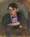 JulesPascin-1911-Portrait of Isaac Gruenewald.png