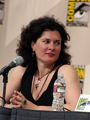 Julie Gardner - Gardner at Comic Con 2008