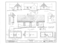 Julius Albright House, Hohfelder Road, Glencoe, Cook County, IL HABS ILL,16-GLENC,1- (sheet 1 of 1).png