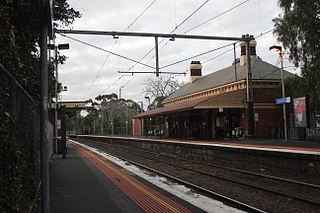 Moonee Ponds railway station