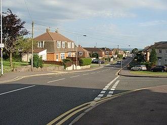 Bulwark, Chepstow - Bulwark Road