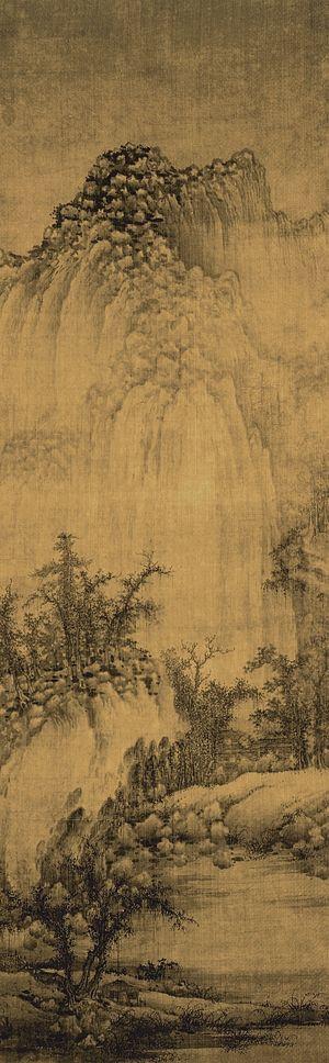 Juran (painter) - Image: Juran Buddhist Monastery by Streams and Mountains