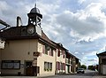 Just a streetview with cafe at Chéserex Switserland near lake Geneva - panoramio.jpg