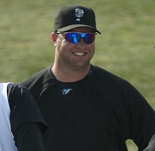 Justin Mashore American baseball coach