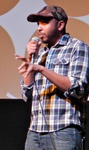 Justin Simien - Justin Simien speaking at Sundance Film Festival