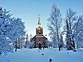 Jyväskylän kaupunginkirkko talvipäivänä.jpg