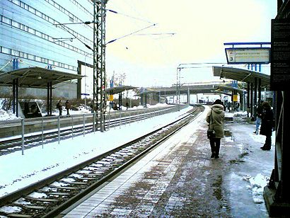 How to get to Käpylän Asema with public transit - About the place
