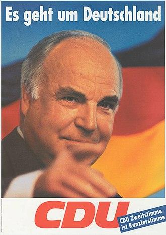 1994 German federal election - Image: KAS Kohl, Helmut Bild 2574 3