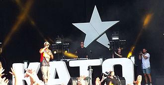 Kato (DJ) - Image: KATO & Brandon Beal, Grøn Koncert 2013