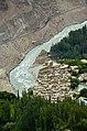 KKH, Hunza River and Altit Village with Altit Fort.jpg