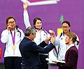 KOCIS Korea London Olympic Archery Womenteam 15 (7682349598).jpg