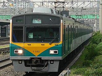 Seoul Subway Line 1 - Image: KORAIL EMU1000 Last 2nd(1x 82) OC