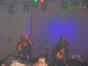 Branko Črnac Tusta - Branko Črnac Tusta performing with KUD Idijoti in Belgrade in 2007