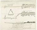 Kaart van de aanleg van de straatweg van Den Haag naar Scheveningen, 1664-1665 Caerte van de straet wegh soo die gemaeckt is van Den Hage tot aen 't zee strang, RP-P-AO-11-42-2.jpg