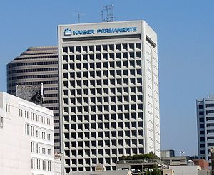 Kaiser Permanente - One of Kaiser's six other office buildings in Oakland